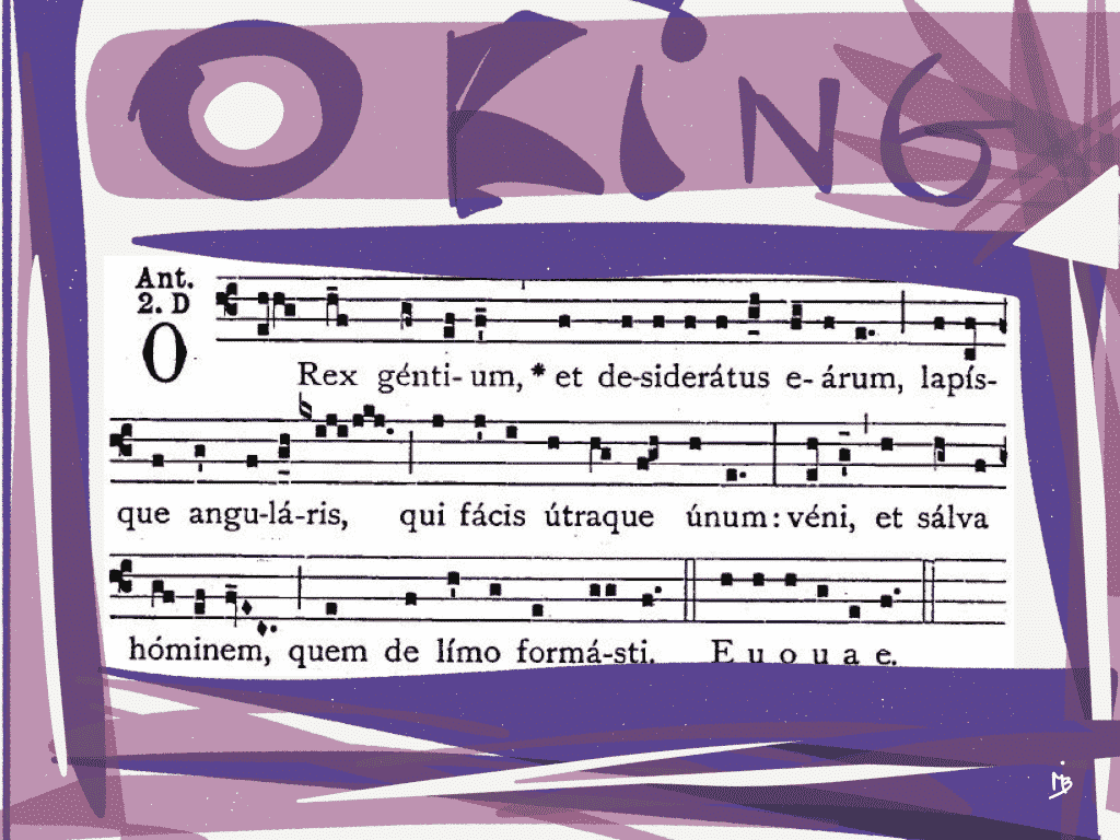 O King of the nations