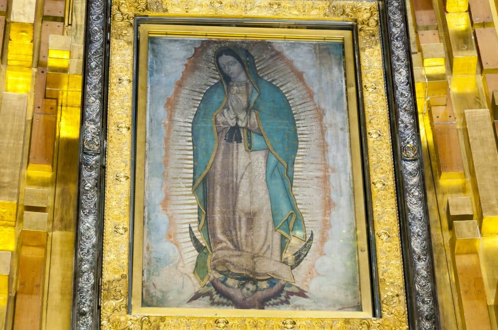 Our Mother of Guadalupe The Madonna of Tepeyac, Tonantzin