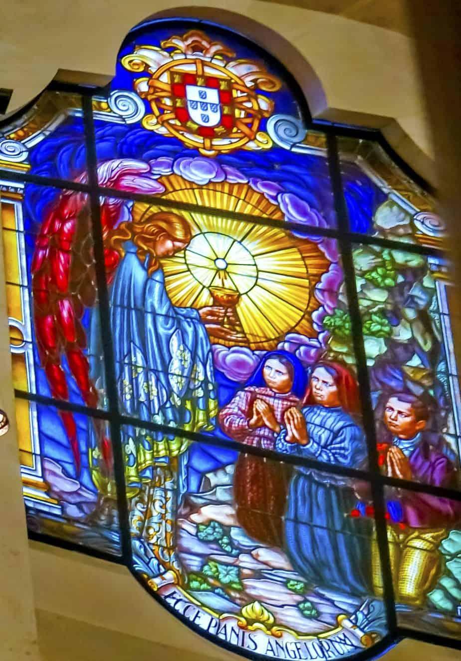The angel of peace of Fatima